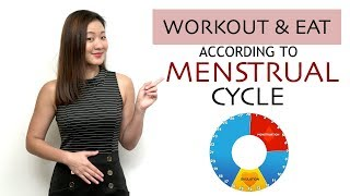 How to Workout & Eat According to Your MENSTRUAL CYCLE & Lose Weight | Joanna Soh