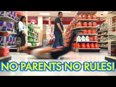 No Parents No Rules! Ever!
