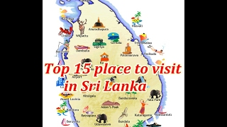 You must visit 15 Best Places in Sri Lanka,  Srilanka,