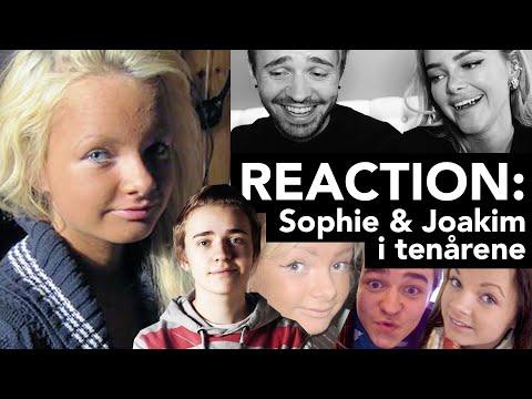 REACTION: Vi ser på bilder av oss fra tenårene! (Sophie Elise & Joakim Kleven)