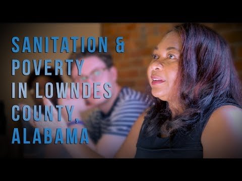 Catherine Coleman Flowers Working with Duke University on Sanitation & Poverty in Lowndes County, AL