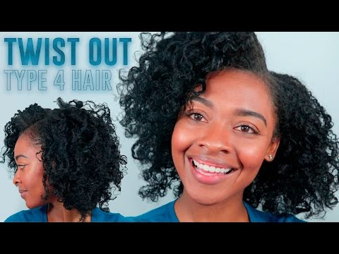 Twist Out on Type 4 Hair | Natural Hairstyles for Black Women