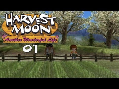 Let's Play Harvest Moon: Another Wonderful Life 01: Welcome to Forget-Me-Not Valley