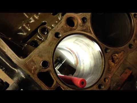 Cracked Engine block.