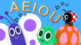 A E I O U - La Canción de las Vocales - Clásicos y Canciones Infantiles | El Reino Infantil