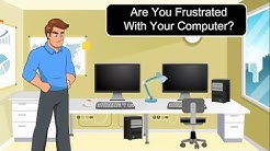 Computer Repair Promotion Video Animated