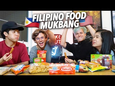 TRY FILIPINO FOOD! | Ranz and Niana