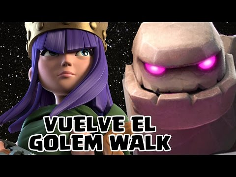 ¡¡VUELVE EL GOLEM WALK!! | Ataques en directo | Clash of Clans con TheAlvaro845 | Español