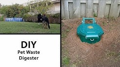 Pet Waste Digester for your Back Yard