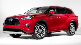 The New 2020 Toyota Highlander - Fantastic Mid-Size SUV   Interior and Features   Safety System