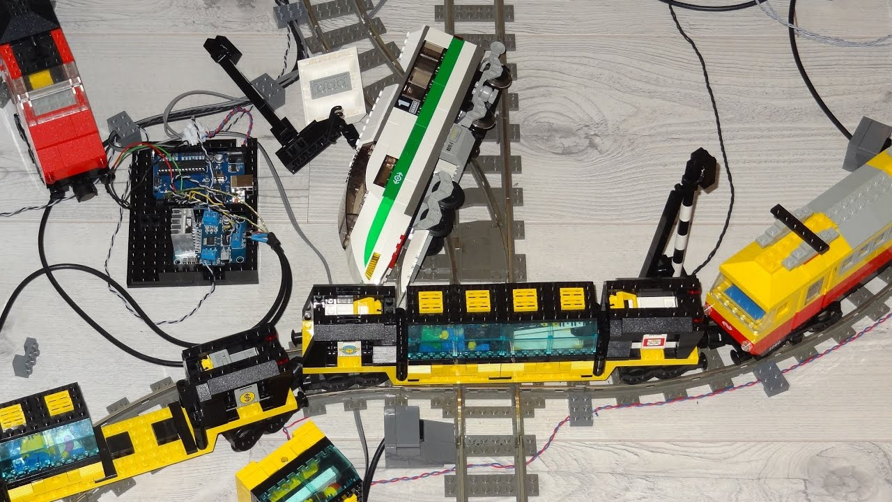 Crash after lego train automation by arduino e