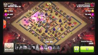 #21 Clash of Clans 3 Star TH11 MASS Witch Attack 2 2016 03 08