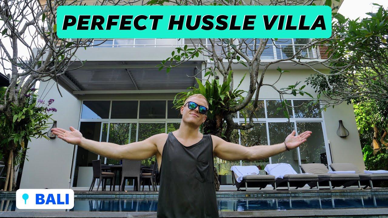 CANGGU DREAM HUSSLE VILLA for $300 – The White Box   Full MTV Cribs Tour — Bali, Indonesia