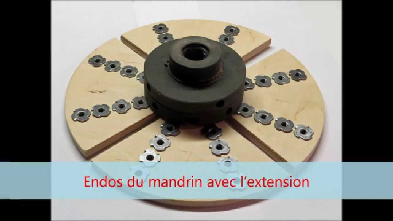 Extension pour mandrin de tournageExtension for chuck  YouTube