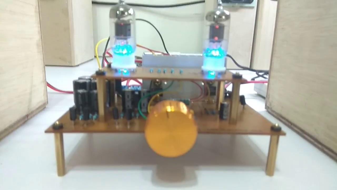 6j1 China Tube Hand Made Ith Lm1875t Ampab Class Diy Hifi Audio Amplifier Circuit Lm1875 Board