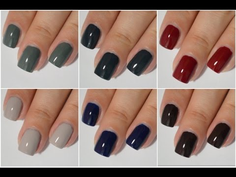 Essie Dress To Kilt Swatch and Review | Fall 2014 - YouTube