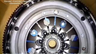 Маховик, комплект сцепления, выжимной Volkswagen Т4  LUK 600001200(Демпфер (маховик двухмассовый) сцепления VW T4 2.5TDI 65kw (+выжимной подшипник) LUK 600001200 Купить комплект (маховик,..., 2016-02-10T11:10:06.000Z)