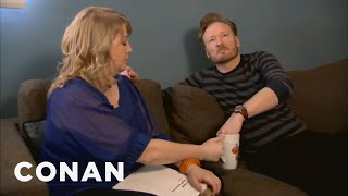Watch CONAN @ http://teamcoco.com/video. Conan O'Brien decides to join the staff Secret Santa exchange - and blows one employee's mind -- with a little help ...