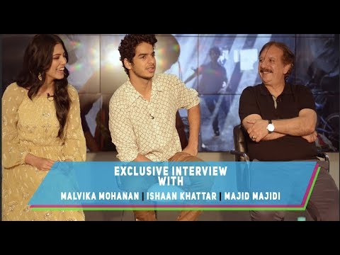 Interview with Iranian Director Majid Majidi And The Cast Of Beyond The Clouds Ishaan &  Malvika
