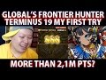 Brave Frontier Global Frontier Hunter Terminus 19 My 1st Try More Than 2,1M Pts?