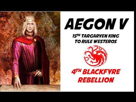 Targaryen History: Aegon V (15th Targaryen King of Westeros)
