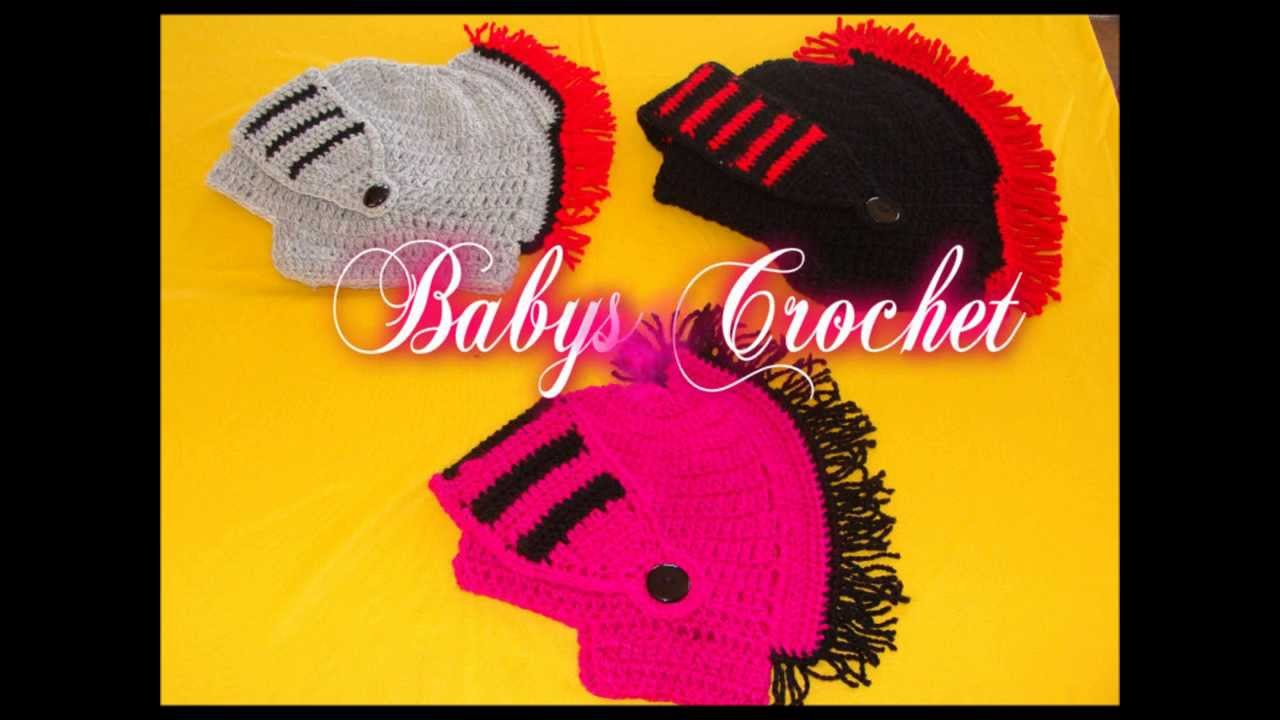 GORROS DE ROMANO A CROCHET - YouTube