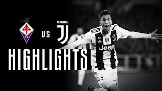 HIGHLIGHTS: Fiorentina vs Juventus - 0-3   Bentancur, Chiellini & Ronaldo goals