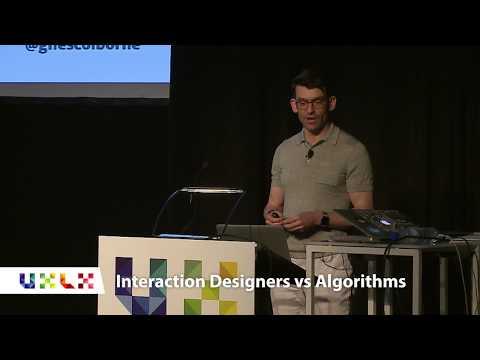 Interaction Designers vs Algorithms