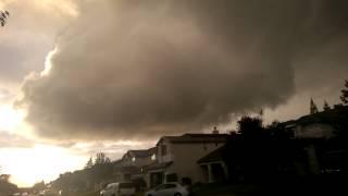 Rocklin Tornado Warning 3/26/2014