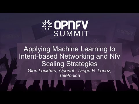 Applying Machine Learning to Intent-based Networking and Nfv Scaling Strategies