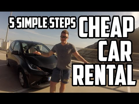 CHEAP CAR RENTAL IN 5 SIMPLE STEPS - TrekTrendy guide