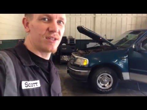 Ford F-150 emissions: PCV valve, EGR valve, EVAP canister, & purge