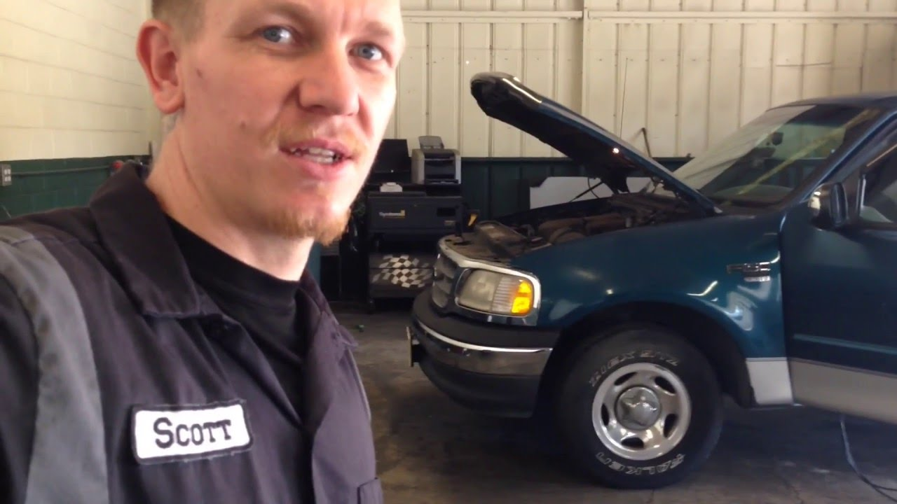 how to clear egr code on 2003 f150