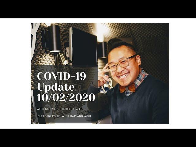 MN COVID-19 Update 10/02/2020: Hais Lus Hmoob