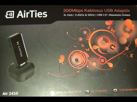 AirTies Air2410 Wireless Adapter Drivers for Mac