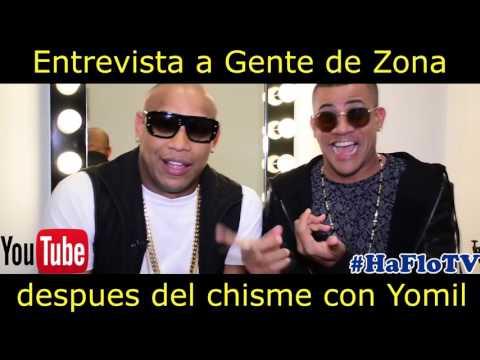 Entrevista a Gente de Zona- HafloTV