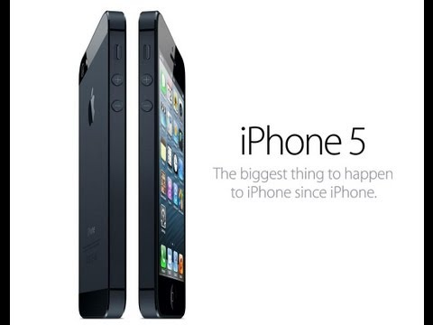 Apple iPhone 5 Official Video