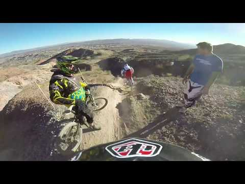 GoPro Aaron Gwin and Charlie Harrison Bootleg Canyon 2014 Helmet Cam
