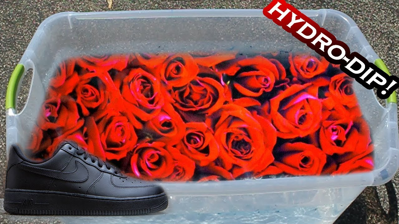 HYDRO Dipping AIR Force 1\u0027s ,4