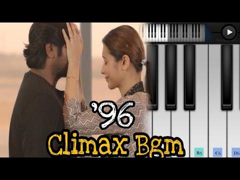96 Climax Bgm Piano | Piano And Flute | Govind Vasantha