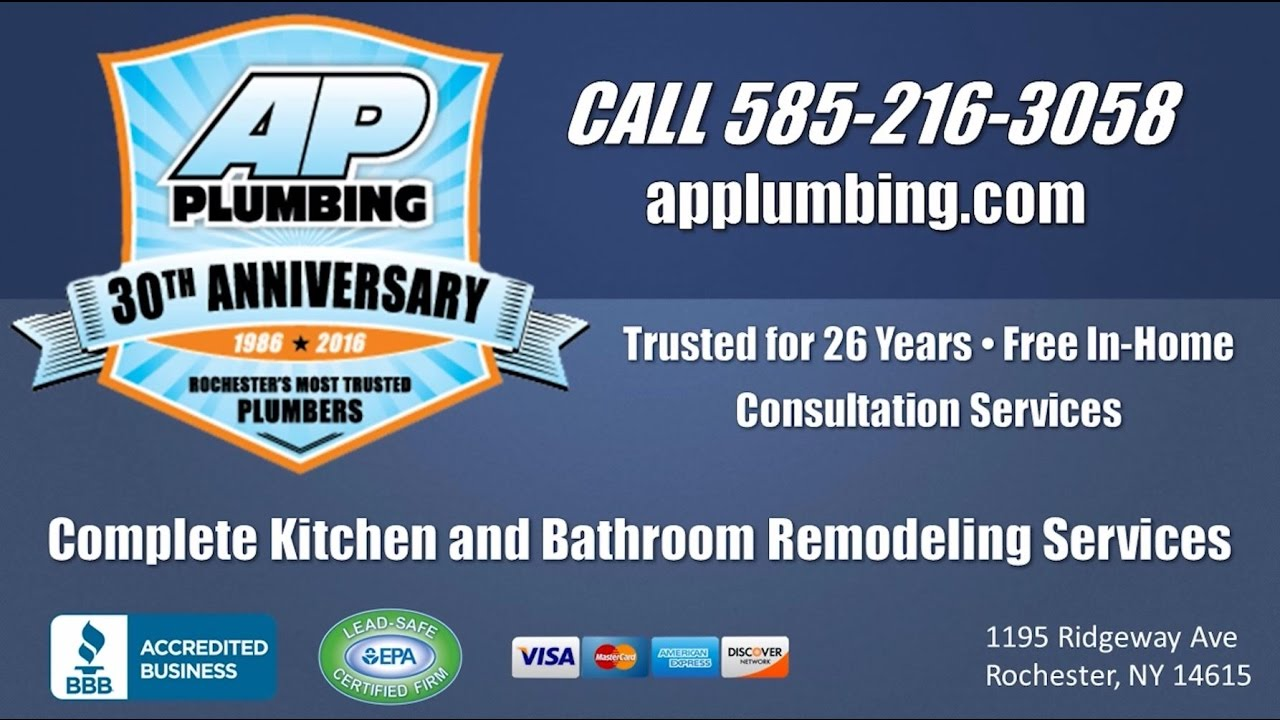 Ap Plumbing Rochester Ny Kitchen And Bath Remodelers
