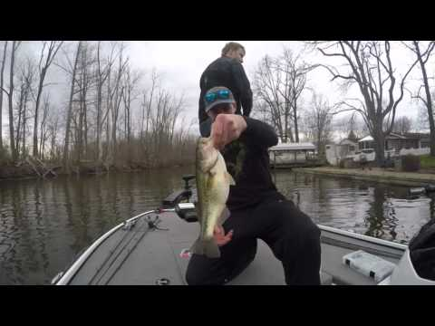 indian lake spring bass fishing youtube