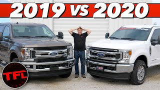 Mind-Bending Power from the 2020 Ford Super Duty Diesel! Let's Dyno It Against an Old 2019 & Compare