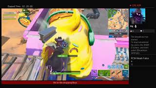 Fortnite chilling getting better at snipeing