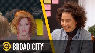The Story Behind Ilana's Genius Business: Phone Wigs - Broad City