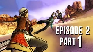 Tales from the Borderlands Episode 2 - Walkthrough Part 1 Atlas Mugged