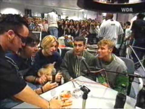 Backstreet boys-1996-Germany OhnmachtTeddysse Jungs (part 1)