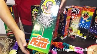 Fogos Caramuru - Demonstração de Produtos