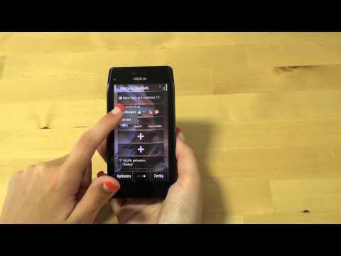 Nokia X7 Test Bedienung