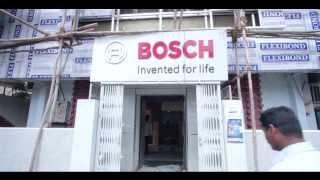 BOSCH DIY Stall Bengaluru - Making Of India